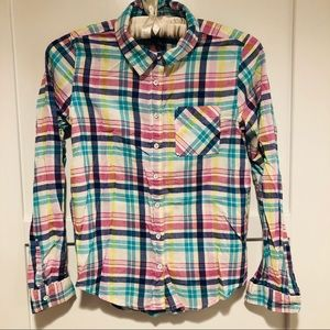Gap Kids Plaid Top